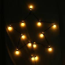 Light Bulb String Outdoor 20pcs Bz487 Eu Large Bulbs String Lights L Warm White