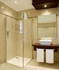small bathroom corner shower ideas built in storage cabinets