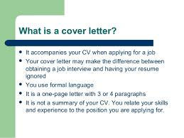 What Is Difference Between Cv And Resume Cover Letter