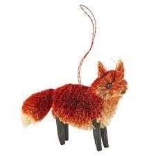 buri fox ornament the land of nod