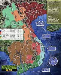 Map Of Usa Game by Vietnam War Map
