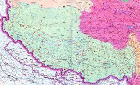 Tibetan Plateau Map Tibet Xizhang Autonomous Region Of China Main Menu