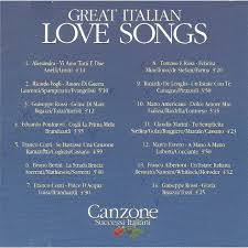 great italian songs by various artists cd with gilou45 ref