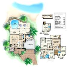 tropical beach house floor plans modern tropical floor plans