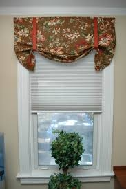 window valance ideas for kitchen diy no sew window valance