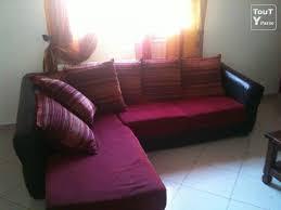 canapé cuir et tissu canapé cuir et tissu idées de décoration intérieure decor