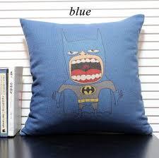 ou jeter un canapé superman jeter oreillers canapé dessin animé