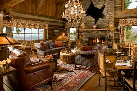 rustic accents home decor stunning rustic country living room decor ideas with log cabin roof