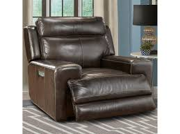 Sleek Recliner by Parker Living Glacier Contemporary Power Recliner With Power
