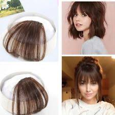 clip in fringe clip in bangs ebay