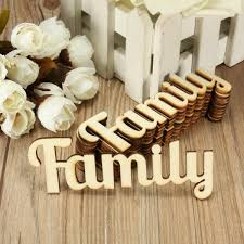 aliexpress com buy 10pcs retro family wooden words script sign aliexpress com buy 10pcs retro family wooden words script sign ornament plaque table stand decor crafts home design decorative crafts accessories from