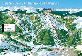 Colorado Ski Areas Map by Ski Resort