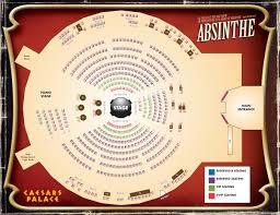 Caesars Palace Las Vegas Map by Absinthe Show Photo Tour Photo Tours Vegas