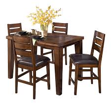 pub table with 4 chairs by ashley furniture turner u0027s budget