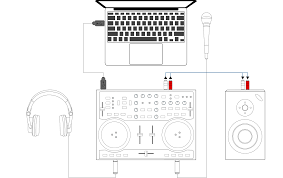 Laptop Desk With Speakers by 3 Hardware Setup U2014 Mixxx User Manual
