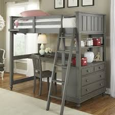 Bunk Bed With A Desk Bunk Beds With Desk Wayfair
