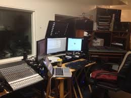 Small Music Studio Desk by My Cluttered Battlestation Of A Small Recording Studio Imgur