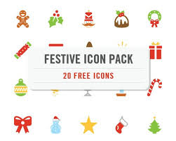 free christmas icons stephan decaux