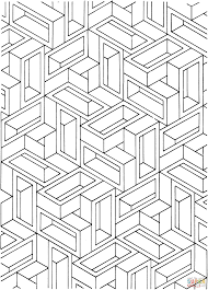 optical illusion coloring pages eson me