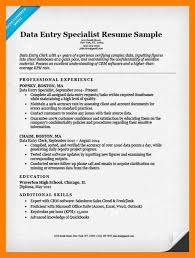 Data Entry Resume 11 Resume For Data Entry Mla Cover Page