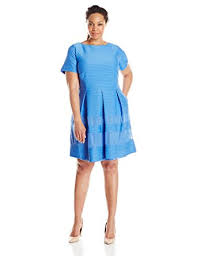 taylor dresses women u0027s plus size fit and flare dress at amazon