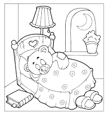 free teddy bear coloring pages funycoloring