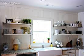 open shelving kitchen ideas kitchen marvelous open kitchen shelves with brackets of