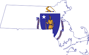 Map Of Cambridge Ma File Flag Map Of Massachusetts Svg Wikimedia Commons