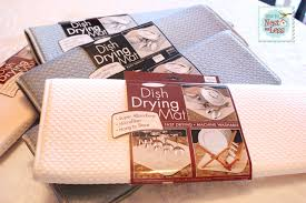 kitchen drying mat giveaway from the original dish drying mat linky party how to