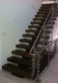cool looking glulam stair stringer and treads by una lam wood
