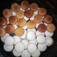 cara membuat kue apem bakar resep apem panggang jawa tanpa telur oleh dhifa andrifha cookpad