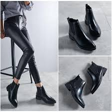 womens chelsea boots leather pointed toe chelsea boots fashioncouture store