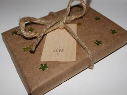 brown gift wrapping paper diy eco friendly gift wrap inhabitots