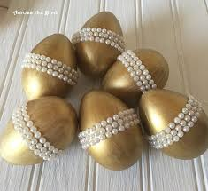 gold easter eggs golden easter eggs with pearls hometalk