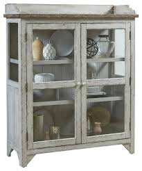 nicole accent display cabinet farmhouse china cabinets and