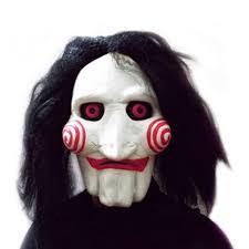 Jigsaw Halloween Makeup Online Get Cheap Creepy Halloween Masks Aliexpress Com Alibaba