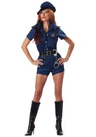 woman costume costumes cop costume