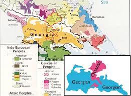south ossetia map keystone of the caucasus ignored ossetia and its snow revolution