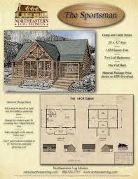 floor plans for a cabin camp and cabin log packages