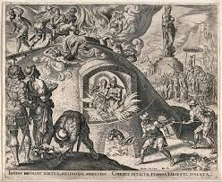 file shadrach meshach and abednego engraving by p galle after