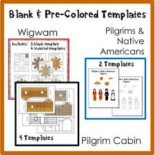 the thanksgiving diorama craft by elizabeth mccarter tpt