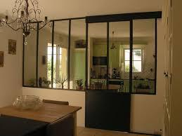 porte coulissante separation cuisine beau decoration maison interieur avec portes fenêtres coulissantes