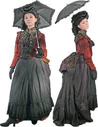 Victorian Halloween Costumes Women Victorian Bustle Woman Costume Boston Costume