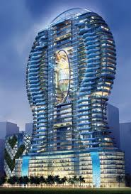 cool building designs dare you swim in pool balconies like this vuing com