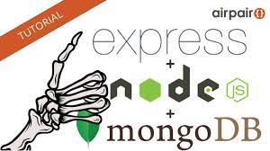 node js quick tutorial complete express js node js mongodb crud rest skeletop