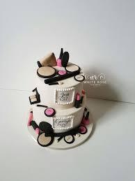 cake maker make up themed birthday cake by white cake design cake maker