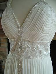 vintage inspired art deco wedding or reception dress bridal gown