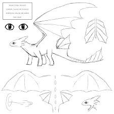 night fury reference sheet by dryicenightfury on deviantart