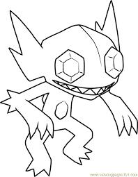 sableye pokemon coloring page free pokémon coloring pages