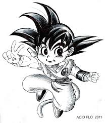 chibi son goku by acid flo on deviantart